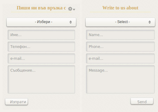Translatable webform component label, default value, options text, submit text